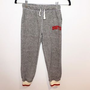 Roots Kids Cabin Track Pants Size 7